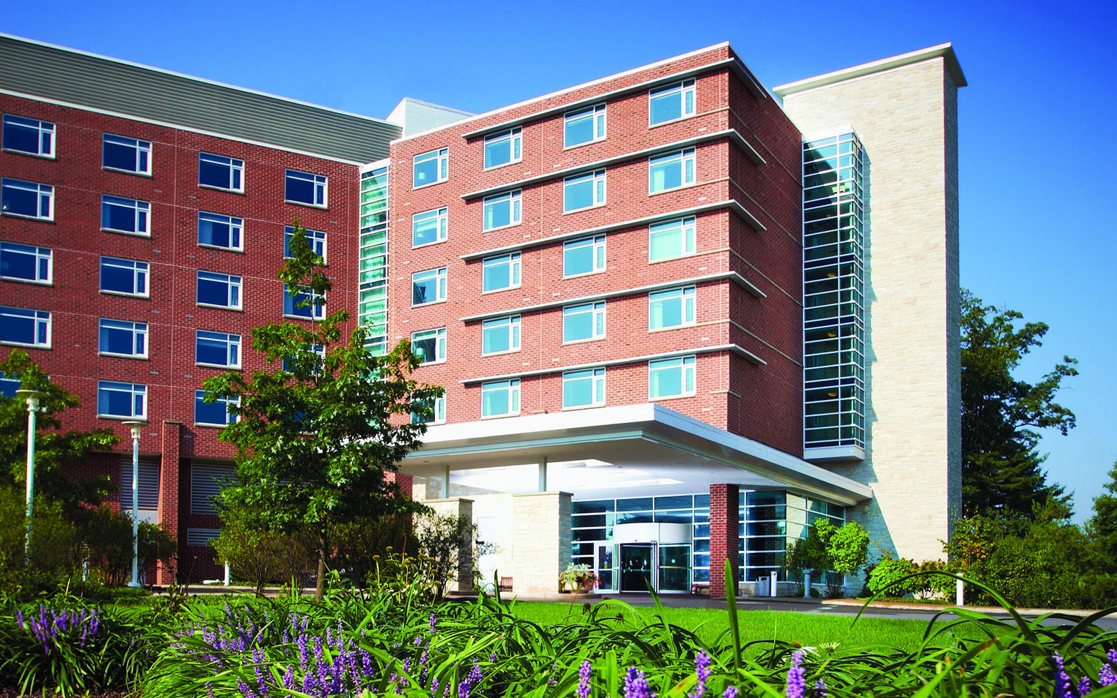 Penn State Energy Days. An image of the Penn Stater Hotel during the day.