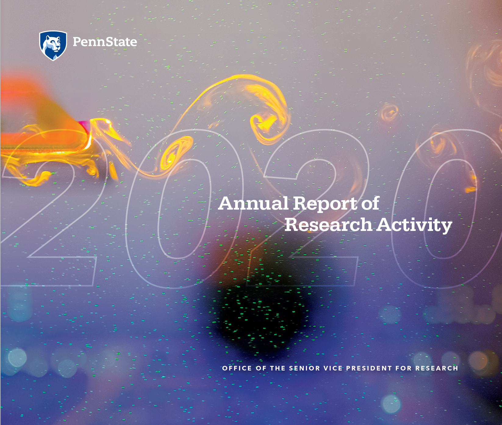 Cover page of 2020 Annual Report