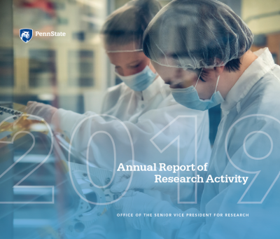 FY 2019 Research Expenditures report