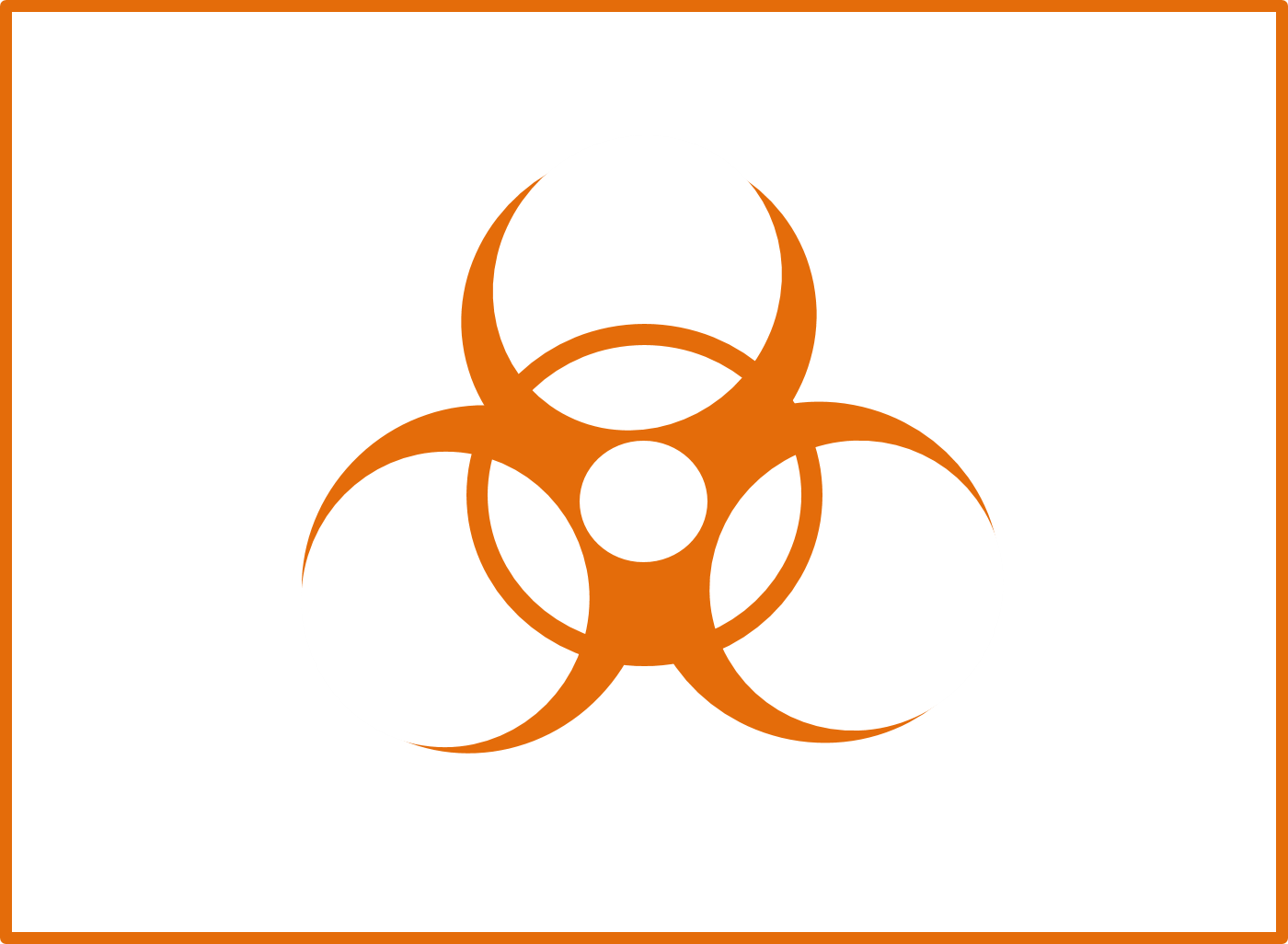 Regulated Biohazardous Materials Icon
