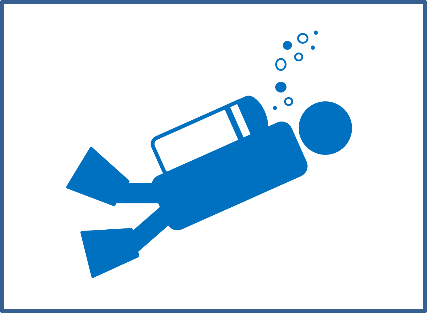 Dive Safety Icon