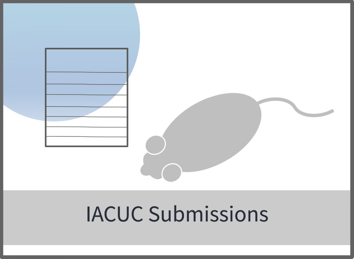 log in to the PRAMS system for IACUC submissions
