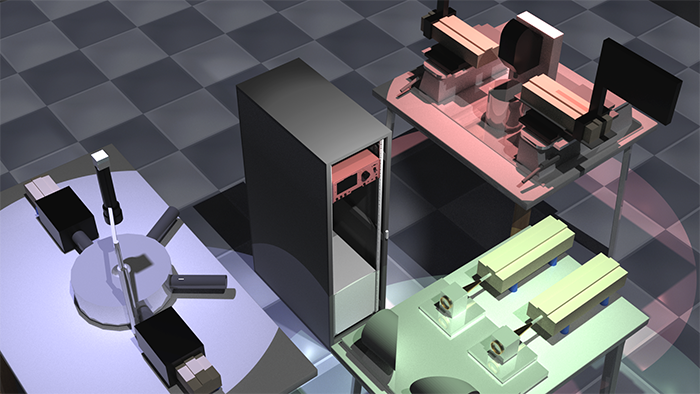 3D model of proposed instrument for acquisition