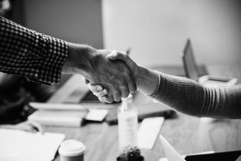 Picture of handshake