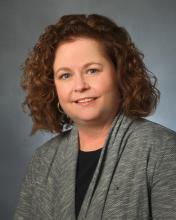 A staff photo of Carol Maddox.
