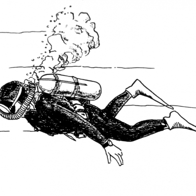 Image of a diver