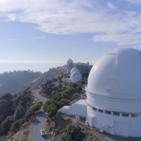 Drone Image of Lick Observatory