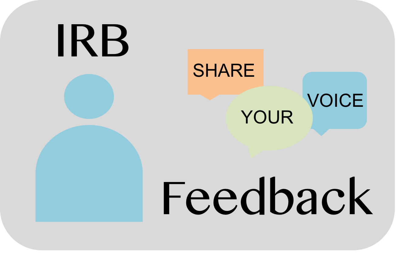 Click here to complete the IRB feedback survey at https://www.research.psu.edu/irb/feedback